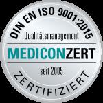 Zertifizierung Mediconzert